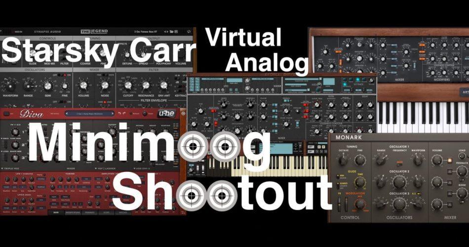 Starsky Carr Minomoog Soft Synth Shootout
