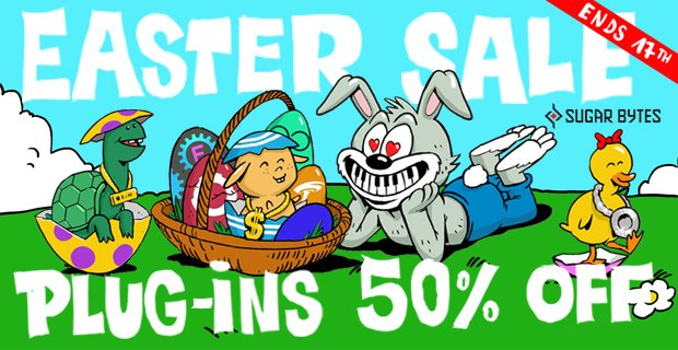 Sugar Bytes Easter Sale