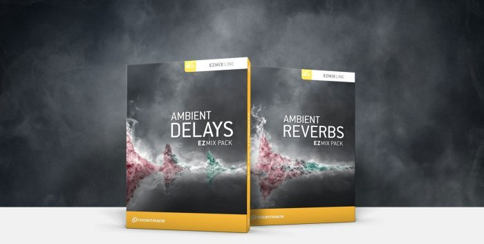 Toontrack Ambient Delays & Reverbs EZmix Packs