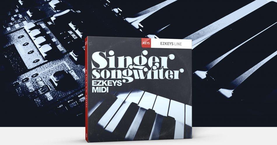 Toontrack Singer Songwriter EZkeys MIDI