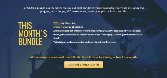 Track Spark April Bundle