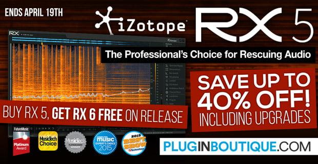 iZotope RX5 sale