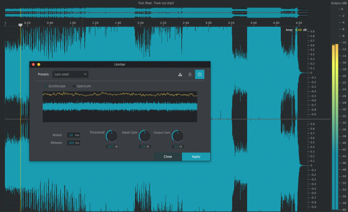 2nd Sense Audio ReSample limiter
