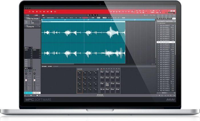 Akai MPC 2.0 Mac audio track