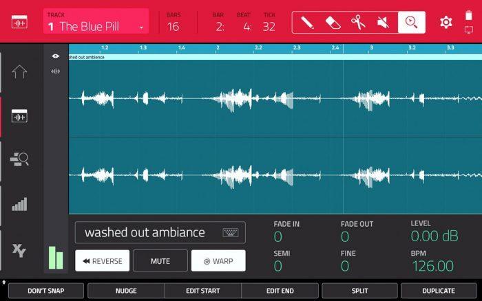 Akai MPC 2.0 audio track