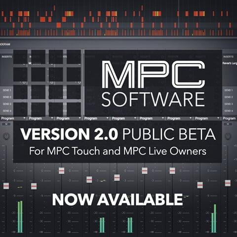 Akai MPC 2.0 public beta