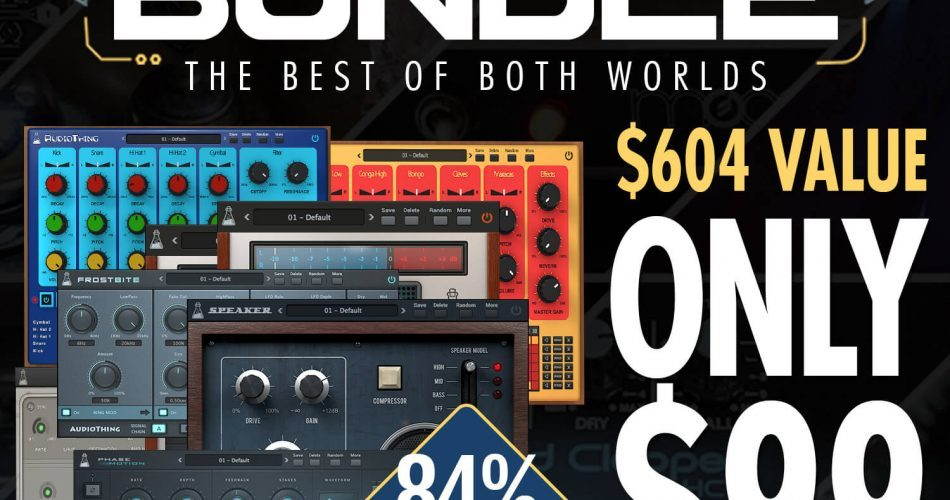 Audio Plugin Deals AudioThing Bundle