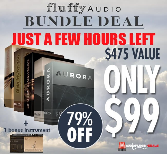 Audio Plugin Deals Fluffy Audio Bundle Deal hours
