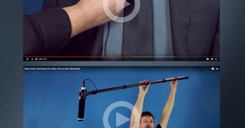 Audio Technica video tutorials