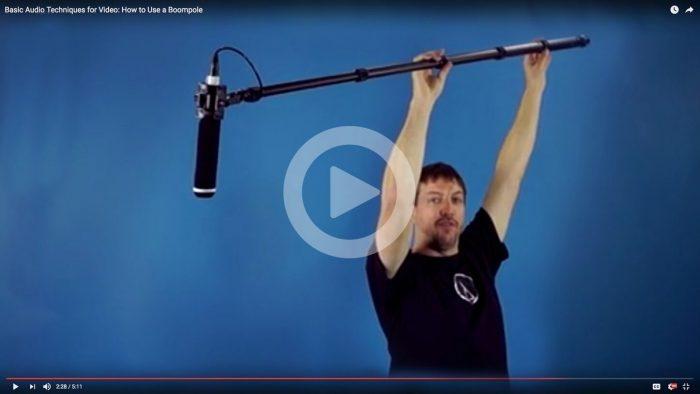 Audio Technica video tutorials boompole