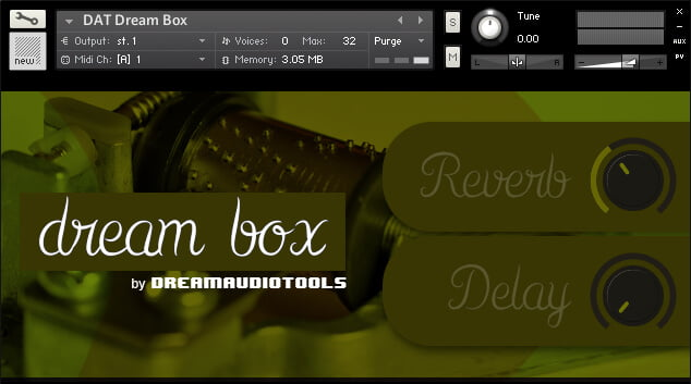 Dream Audio Tools Dream Box