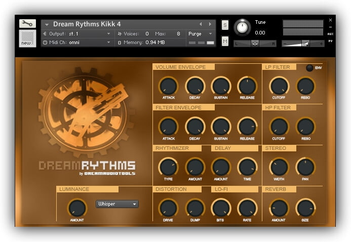 Dream Audio Tools Dream Rythms 2