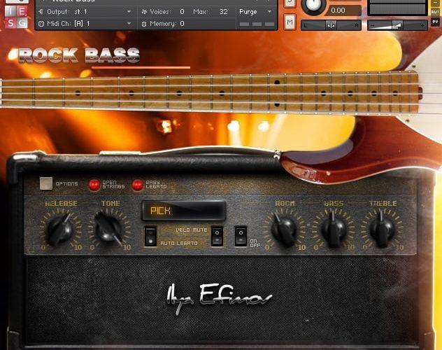 Ilya Efimov Rock Bass