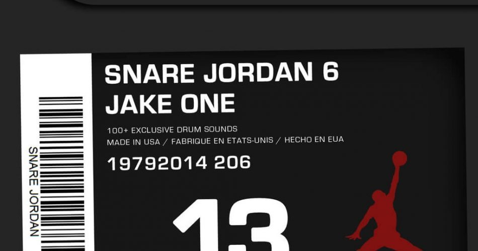 Jake One Snare Jordan Vol. 6