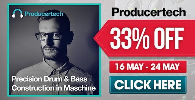 Producertech Precision Drum & Bass Construction in Maschine sale