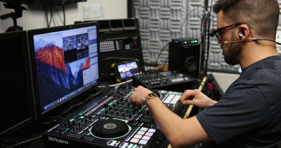 Roland DJ 808 training