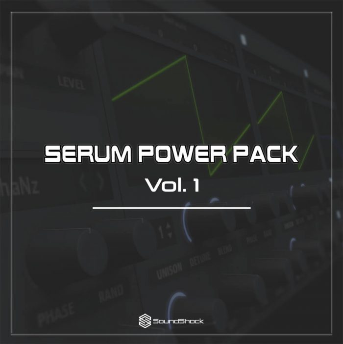SoundShock Serum Power Pack Vol 1
