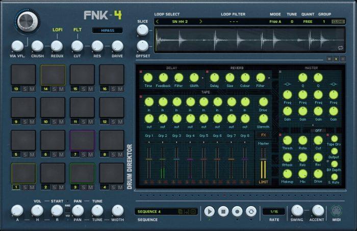 The Loop Loft Drum Direktor FNK 4