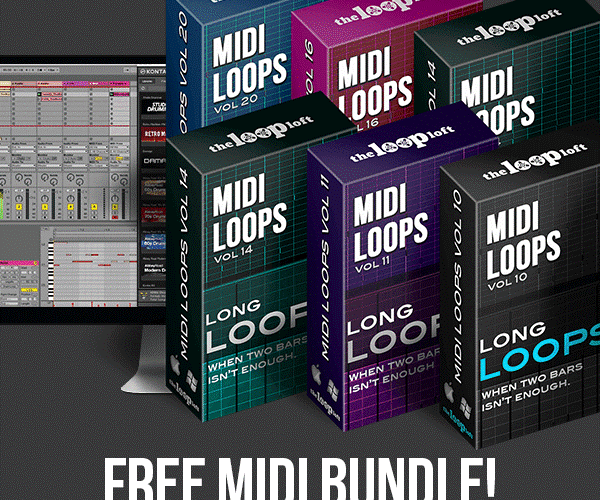 The Loop Loft MIDI Long Loops Bundle