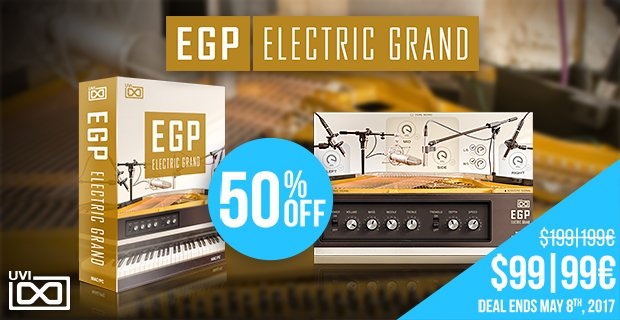 UVI EGP Electric Grand sale
