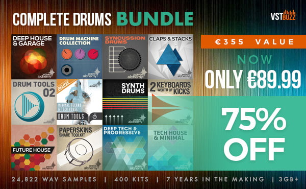 VST Buzz Wave Alchemy Complete Drums Bundle