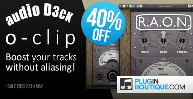 audioD3ck o clip sale