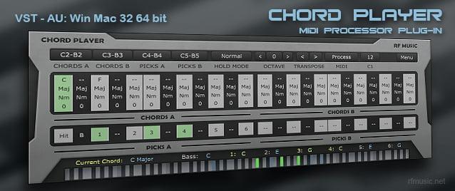 rf Music Chord Player