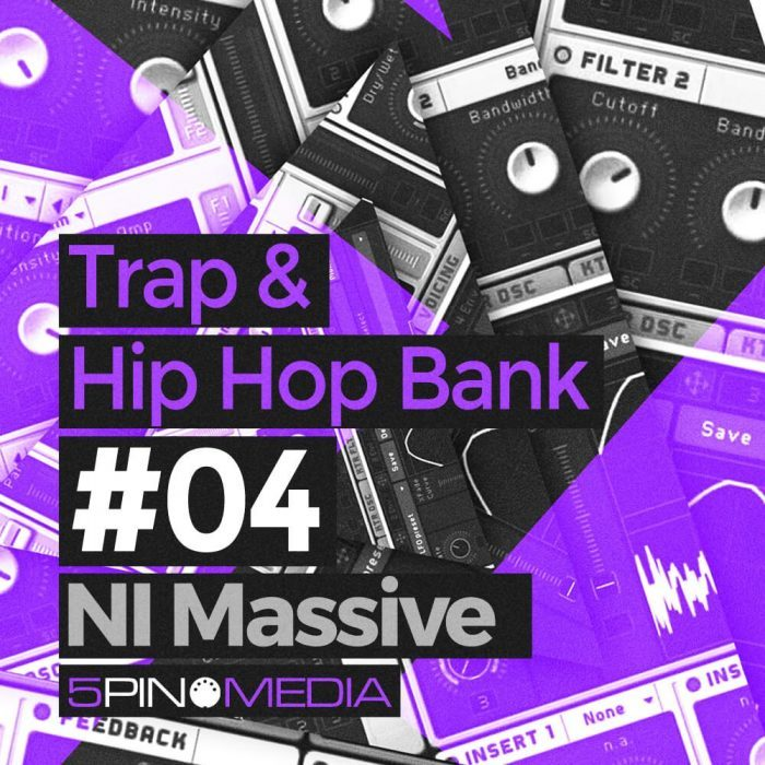 5Pin Media Trap & Hip Hop Bank for Massive
