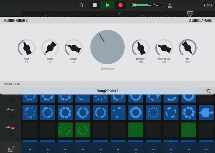 Audio Damage Rough Rider 2 iPad
