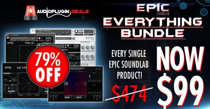 Audio Plugin Deals Epic Soundlab Bundle