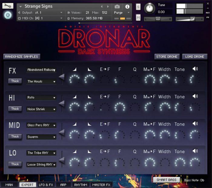 Gothic Instruments Dronar Dark Synthesis expert