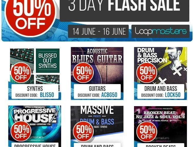 Loopmasters Flash Sale Blissed