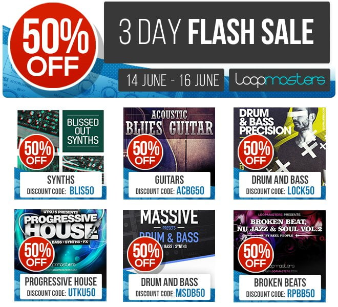 Loopmasters Flash Sale Blissed