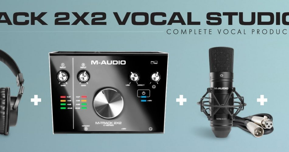 M Audio M Track 2X2 Vocal Studio Pro feat