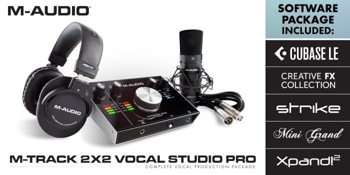M Audio M Track 2x2 Vocal Studio Pro