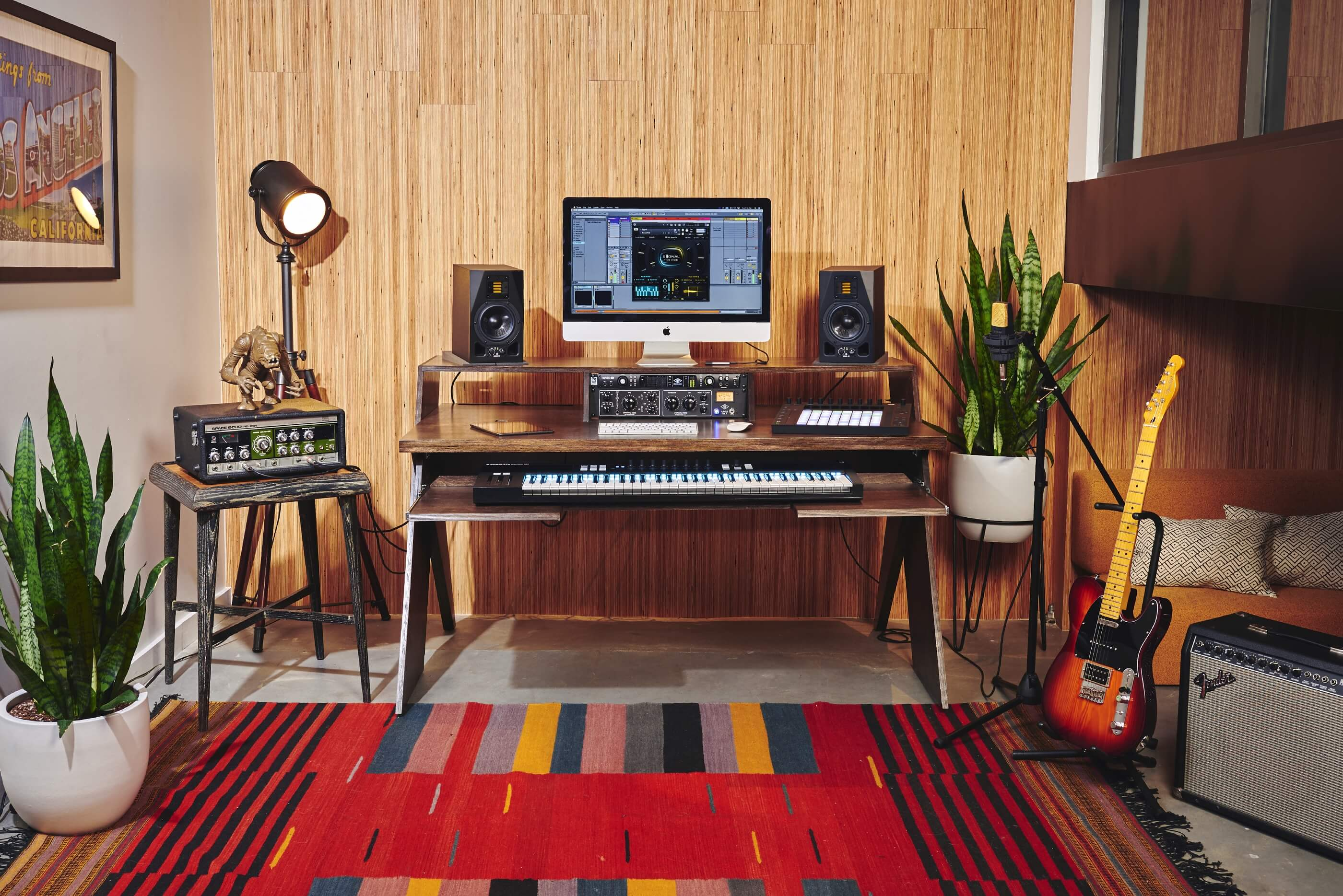 Output Launches Studio Desk For Musicians Designed By