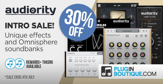 Plugin Boutique Audiority sale
