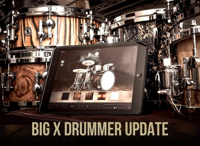 Positive Grid X Drummer update