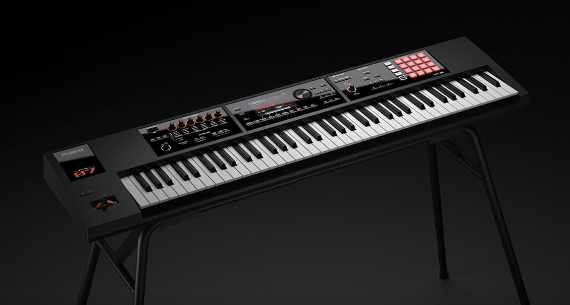 roland intros 76 note keyboard fa 07 music workstation. Black Bedroom Furniture Sets. Home Design Ideas