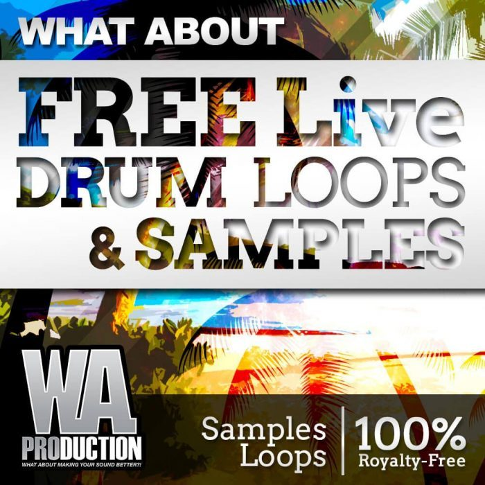 Splice WA Free Live Drum Loops and Samples