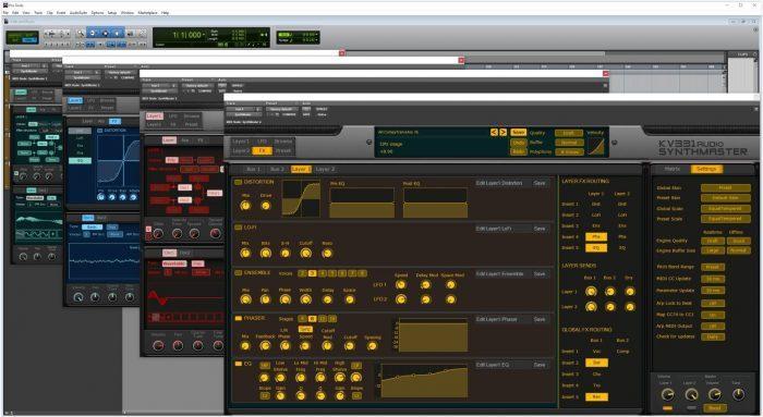 SynthMaster UI