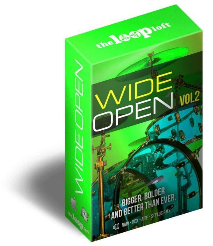 The Loop Loft Wide Open Drums Vol 2