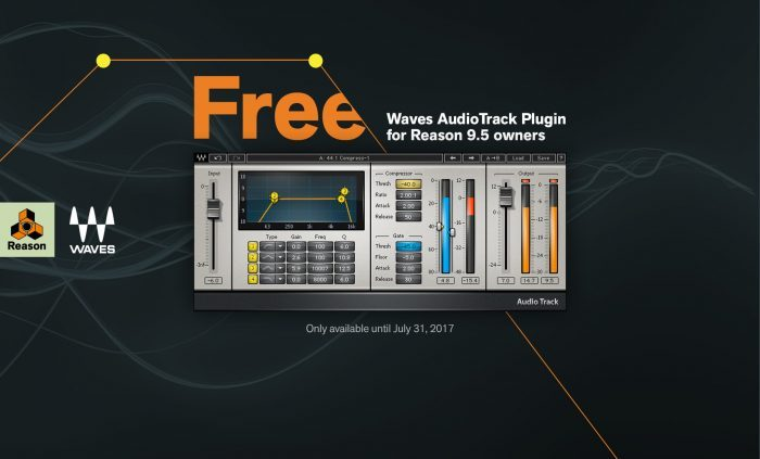 Wave AudioTrack for Reason