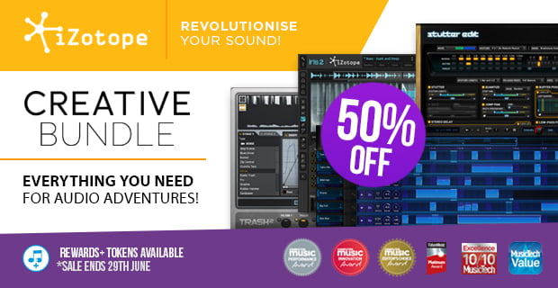iZotope Creative Bundle sale