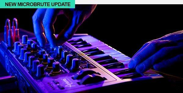 Arturia MicroBrute update