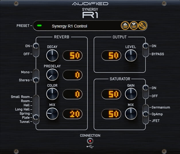 Audified Synergy Control plug in