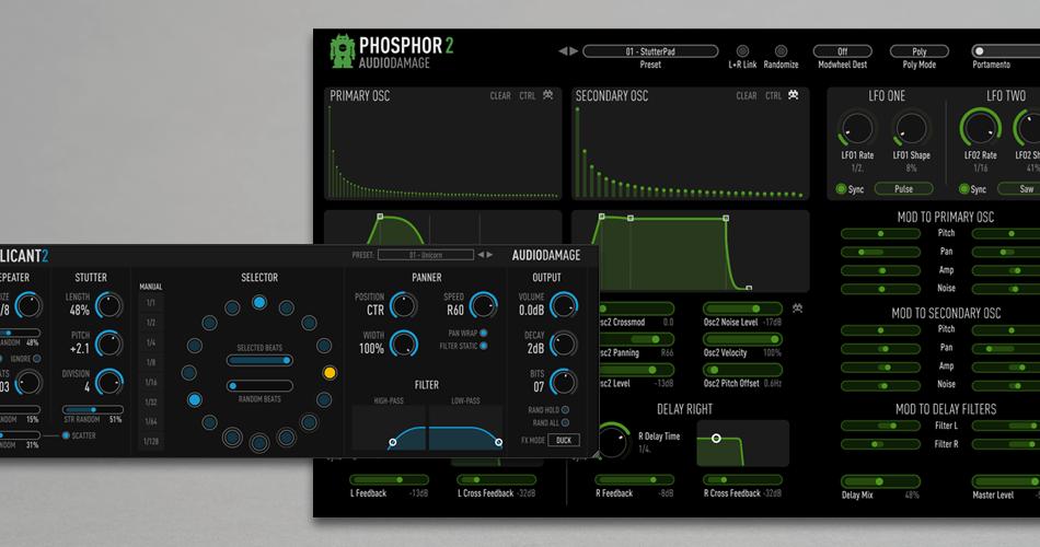 Audio Damage Replicant 2 & Phosphor 2