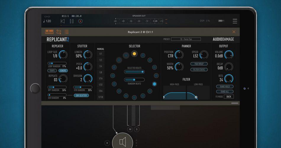 Audio Damage Replicant 2 iOS