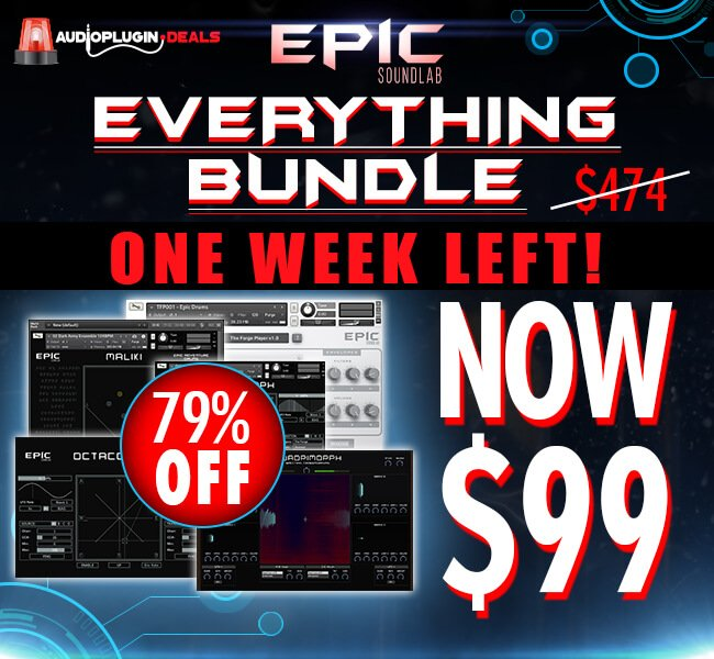 Audio Plugin Deals Epic Soundlab One Week Left
