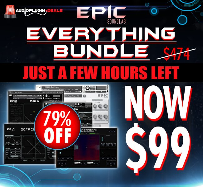Audio Plugin Deals Epic Soundlab hours